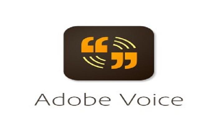 Adobe Voice Presentation Tool