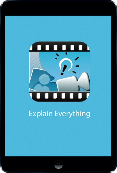 Explain everything app for screencasting