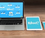Game-based blended learning with Kahoot